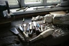 Outils dans atelier